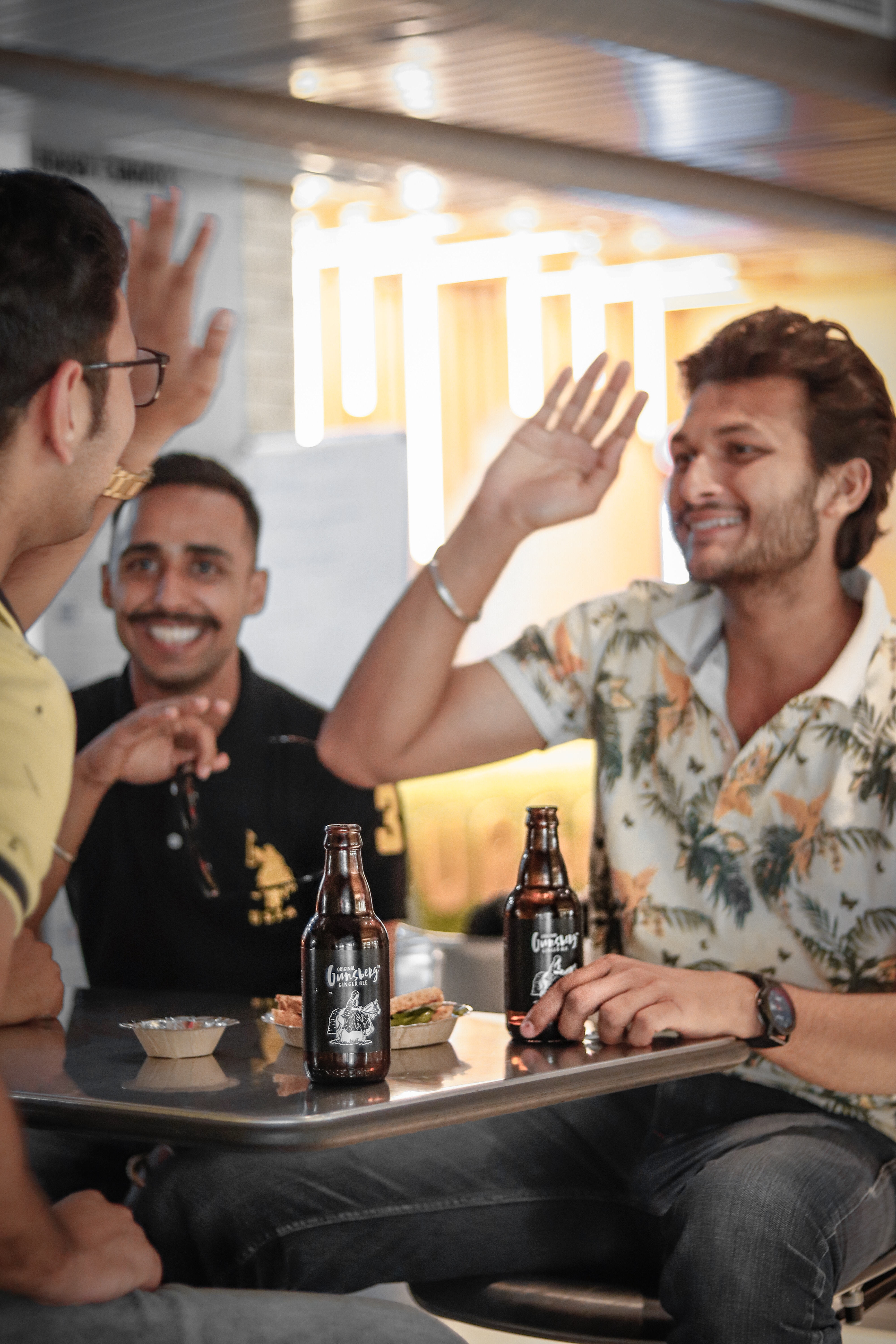 Imagine you and your friends at the bar, talking about your problems