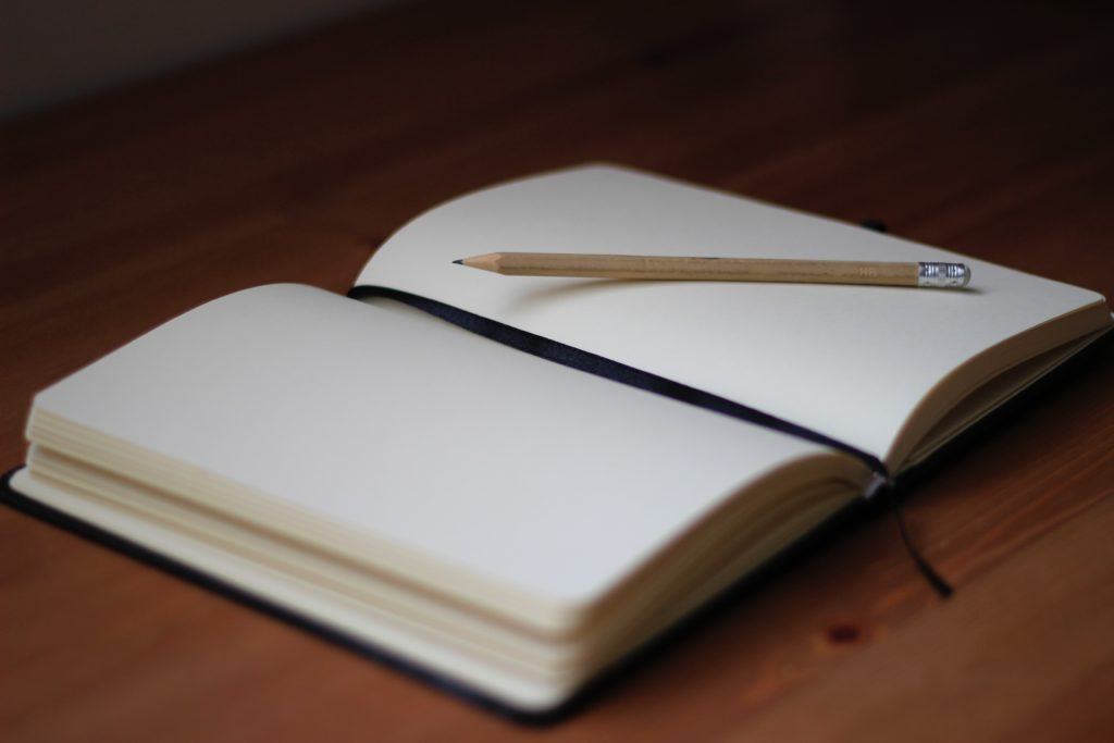 A Blank Page Signifies the Beginning.